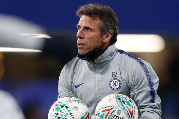 Zola has revealed that he likes what Chelsea are now.