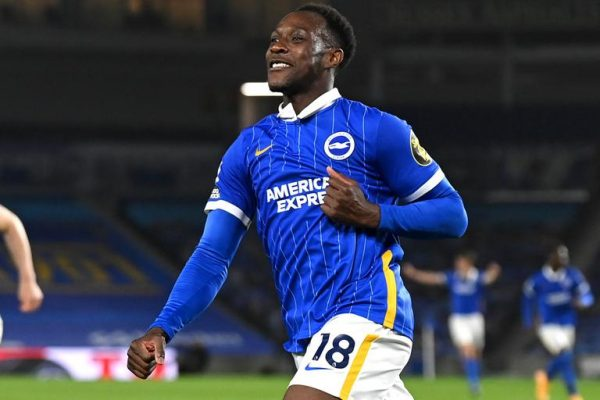 Brighton striker Danny Welbeck will be unable to help the team in the first three games of the new season with a hamstring injury.
