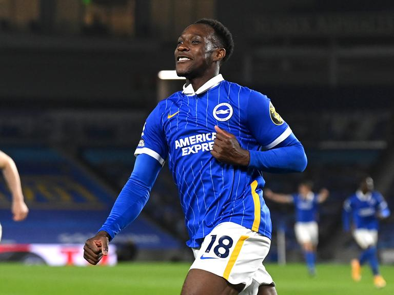 Brighton striker Danny Welbeck will be unable to help the team